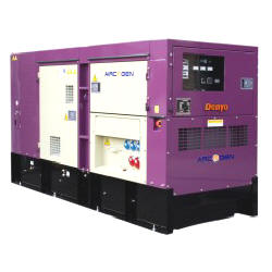 150kva Super Silent Diesel Generator in uk for hire